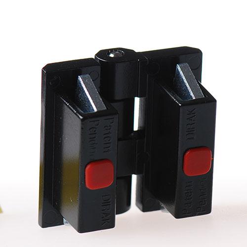 外露式铰链 Pr01 带快速安装装置 180度